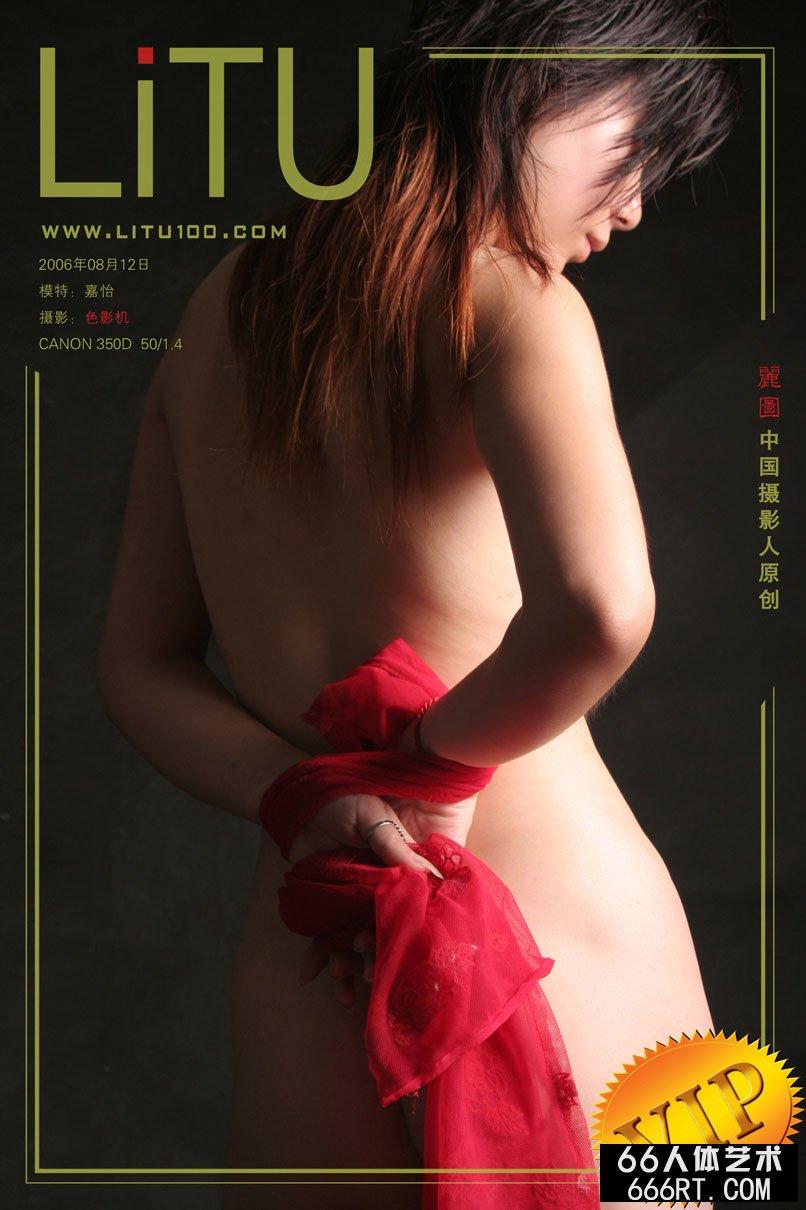 超模嘉怡06年8月12日室拍人体_裸体艺术写真
